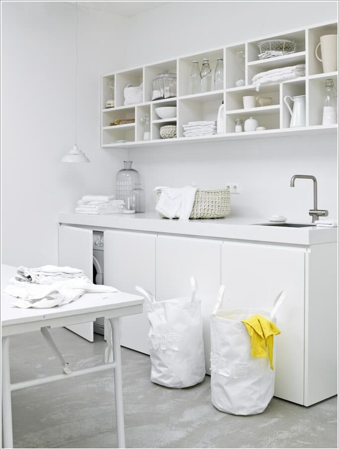 Choose laundry room shelving that suits your needs and style - Outs wasruimte ...