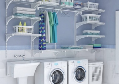 Choose a Laundry Room Shelving That Suits Your Needs and Style fi