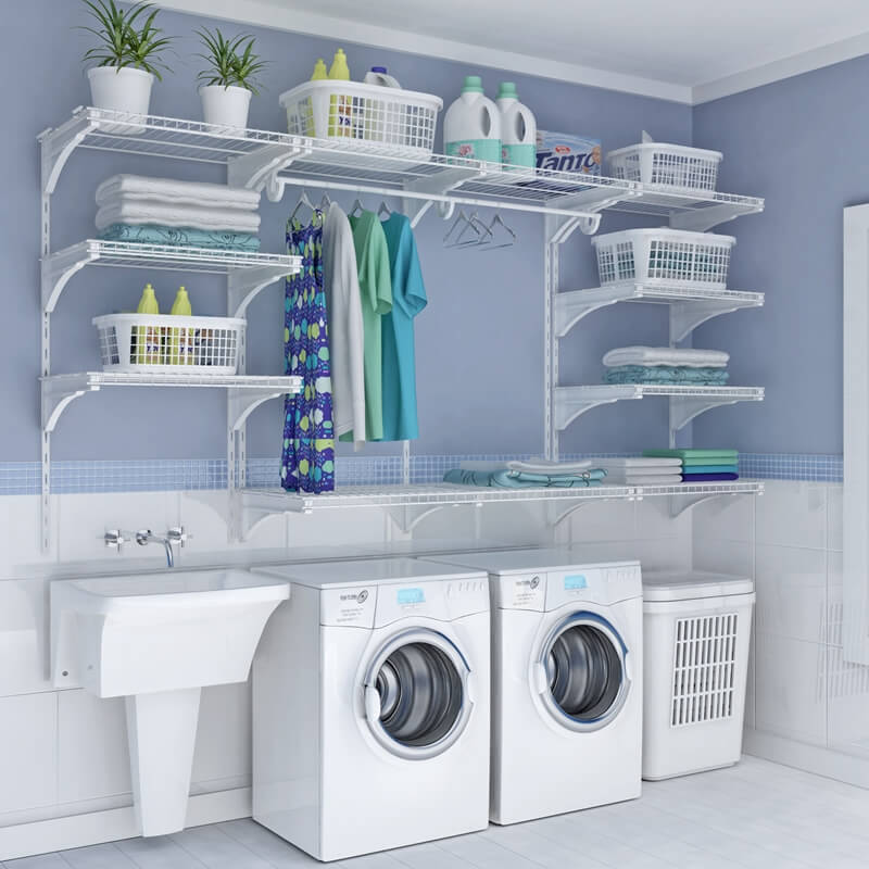 Choose Laundry Room Shelving That Suits Your Needs and Style