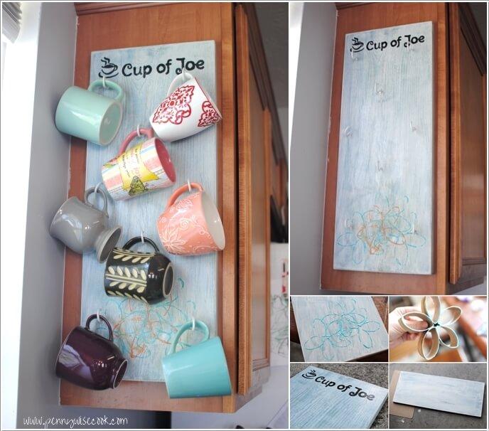 Cool and Creative Mug Storage Ideas 2