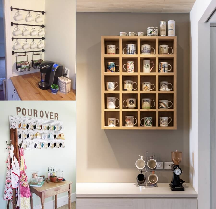 Cool And Creative Mug Storage Ideas For Your Kitchen