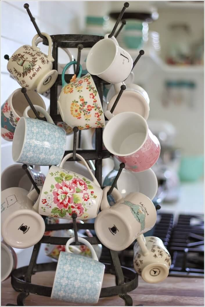 Cool and Creative Mug Storage Ideas 6