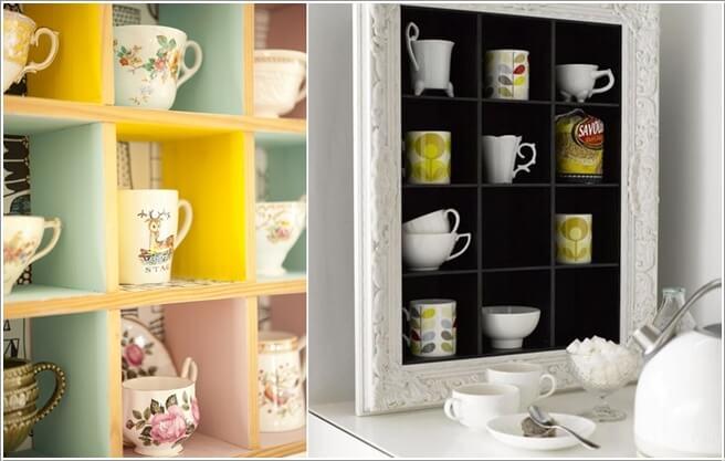 Cool and Creative Mug Storage Ideas 9