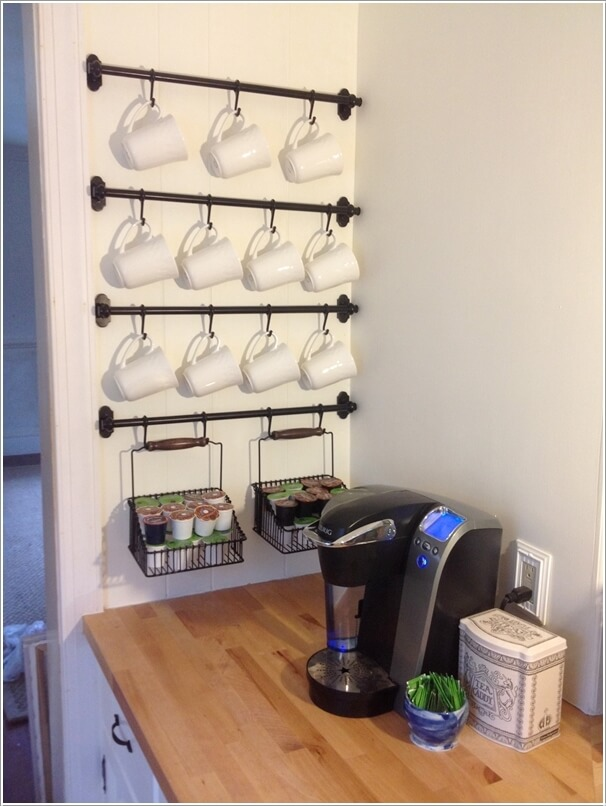 Cool And Creative Mug Storage Ideas For
