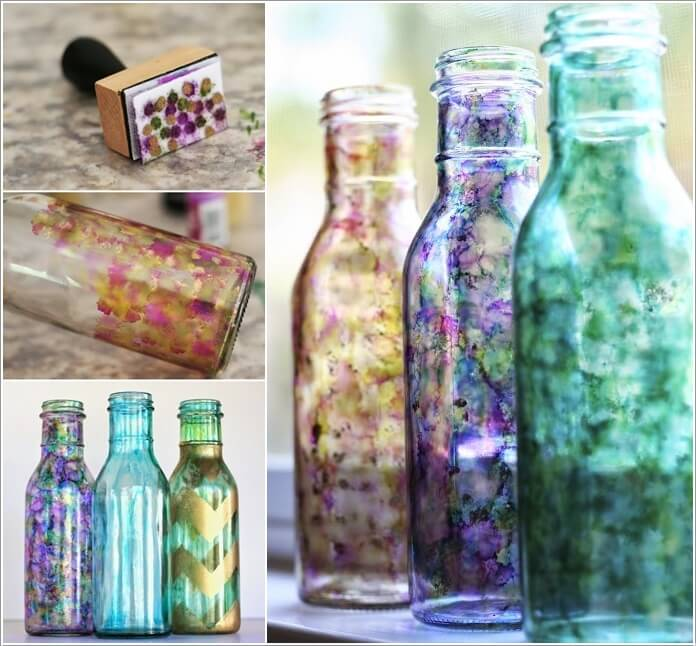Decorate A Glass Bottle Impressive Cool Ways To Decorate Glass Bottles Design Ideas
