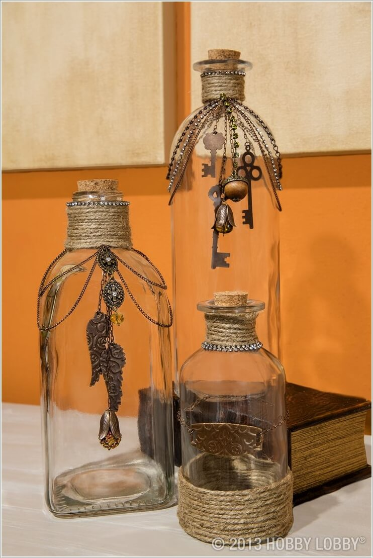 cool ways to decorate glass bottles interior design blogs