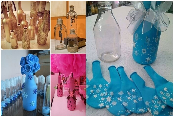 Decorate A Glass Bottle Amazing Cool Ways To Decorate Glass Bottles 2018