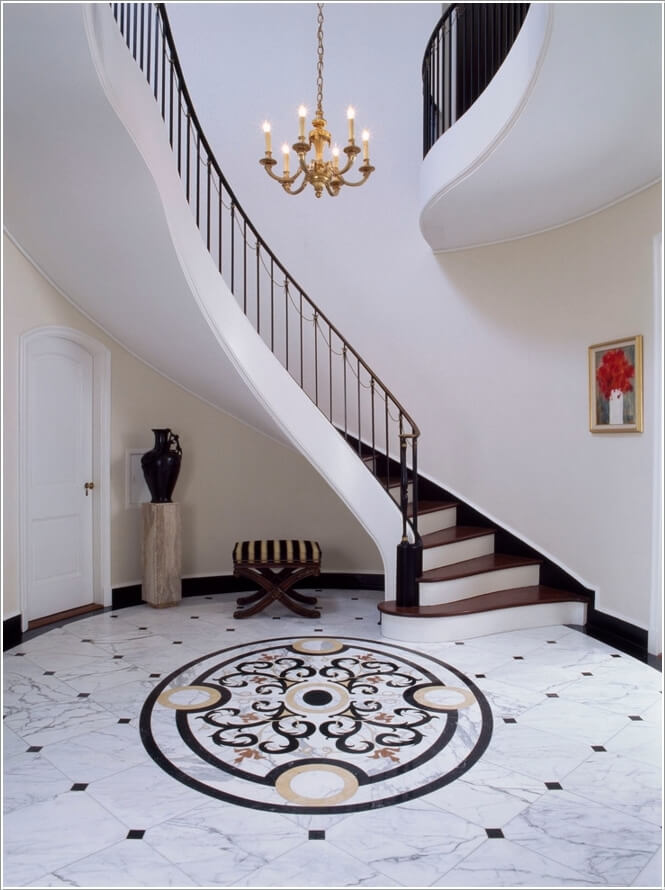 Design Such an Entry Way Floor That Catches Attention 7