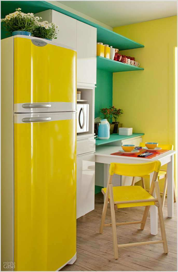Design Your Kitchen with a Cool Color Scheme 1
