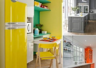 Design Your Kitchen with a Cool Color Scheme fi