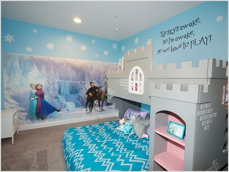 Fabulous Ways to Design a Frozen Themed Room 1