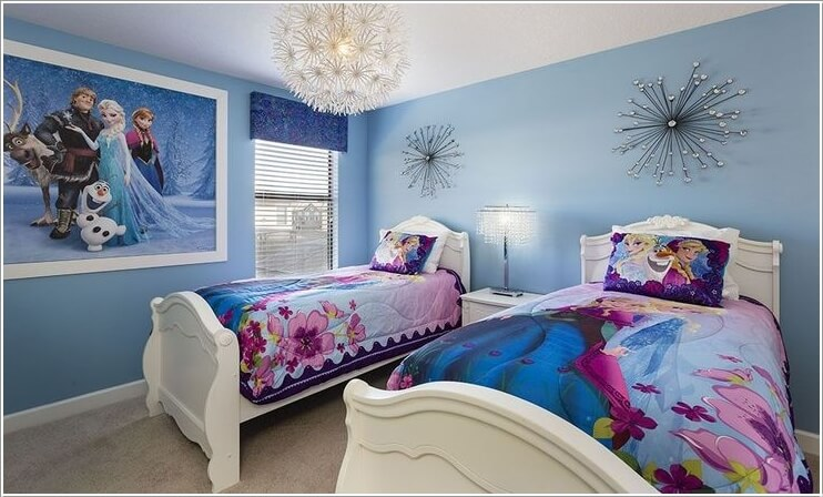 Fabulous Ways To Design A Frozen Themed Room 4