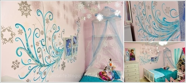 Fabulous Ways to Design a Frozen Themed Room 7