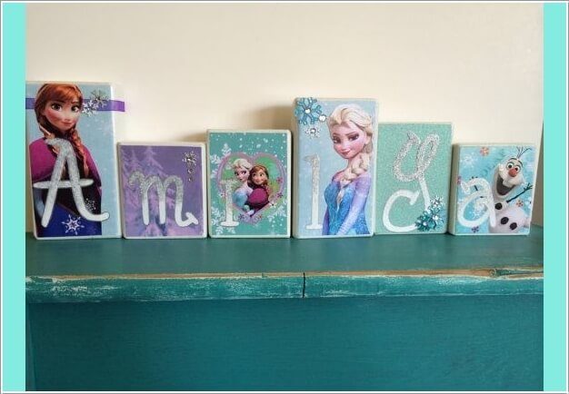 Fabulous Ways to Design a Frozen Themed Room 9