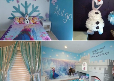 Fabulous Ways to Design a Frozen Themed Room fi