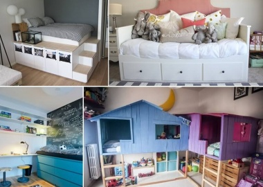 Here Are Some Ingenious Beds Made with IKEA Hacks fi
