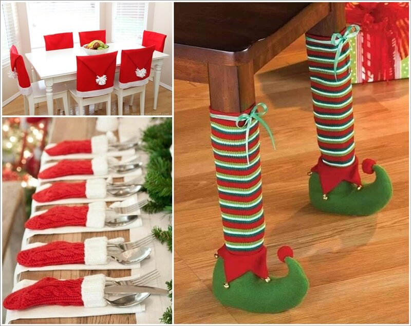 cool christmas photo ideas - Here You Go For Cool Christmas Table Decor Ideas