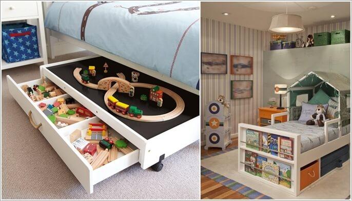 Ingenious Ways to Add Extra Storage to Your Kids' Room 1 Ingenious Ways to Add Extra Storage to Your Kids' Room Ingenious Ways to Add Extra Storage to Your Kids' Room ingenious ways to add extra storage to your kids room 1