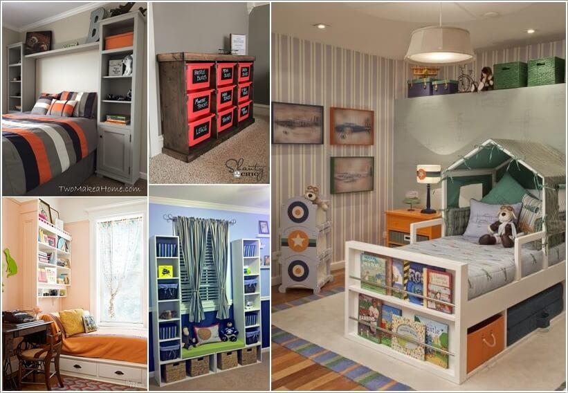 Ingenious Ways To Add Extra Storage To Your Kidsu0027 Room A