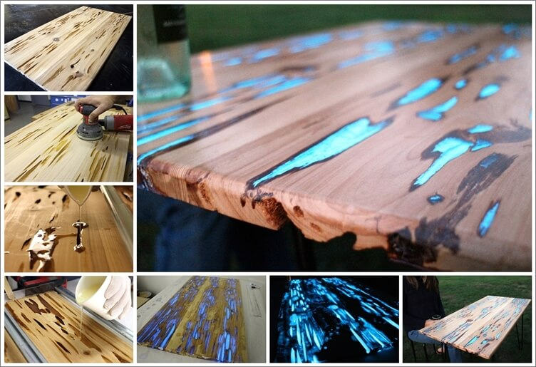 Look a Glow Table! This is Amazing 1