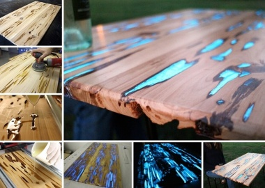 Look a Glow Table! This is Amazing fi