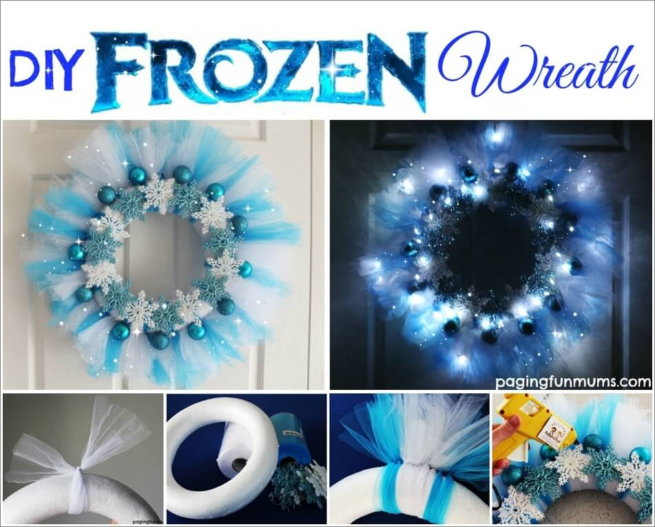 Look At This Fabulous Frozen Wreath 1