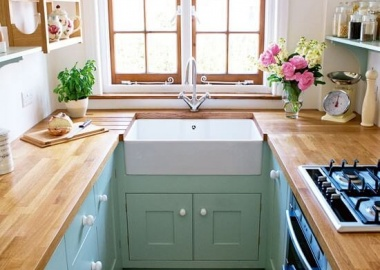 Make a Small Kitchen Look Bigger with These Tips fi