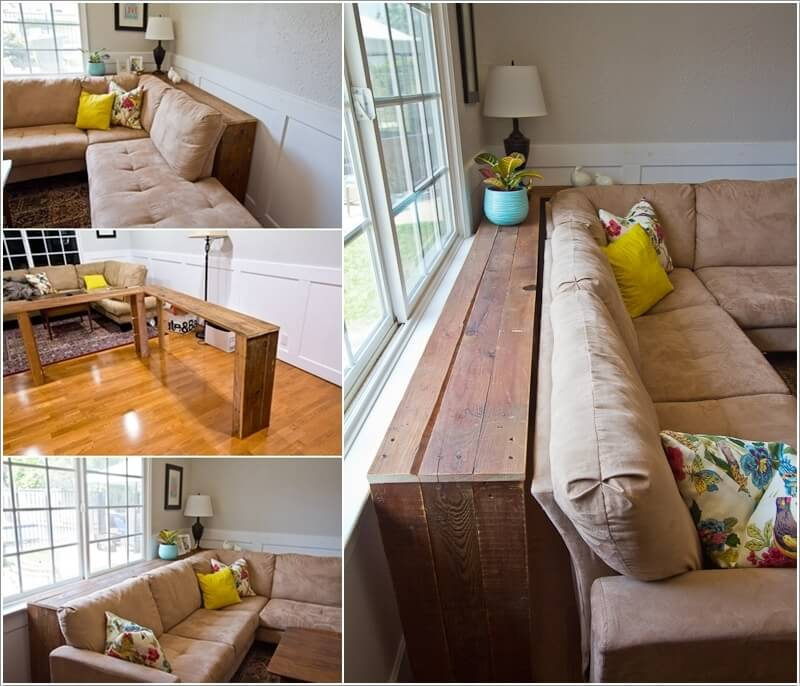 Make Furniture for Your Living Room with Pallets 7
