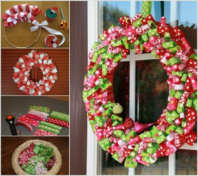 Make This Year's Christmas Decor with Ribbons 1
