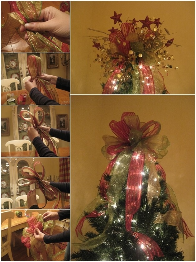 Make This Year's Christmas Decor with Ribbons 8