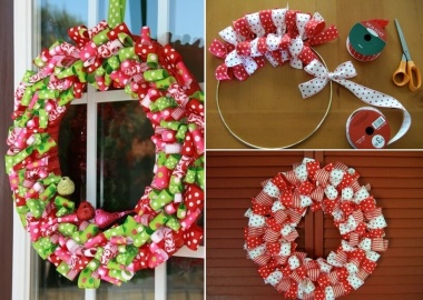 Make This Year's Christmas Decor with Ribbons fi