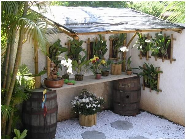 Make Your Own Potting Bench If You Have a Green Thumb 1
