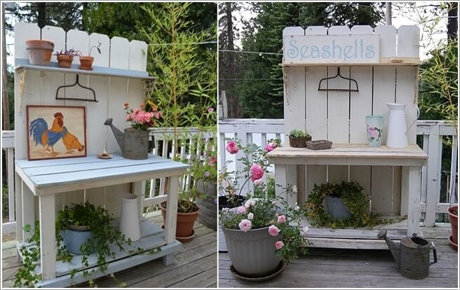 Make Your Own Potting Bench If You Have a Green Thumb 2