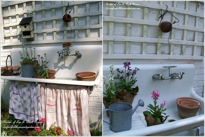 Make Your Own Potting Bench If You Have a Green Thumb 7
