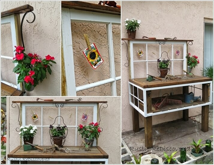 Make Your Own Potting Bench If You Have A Green Thumb