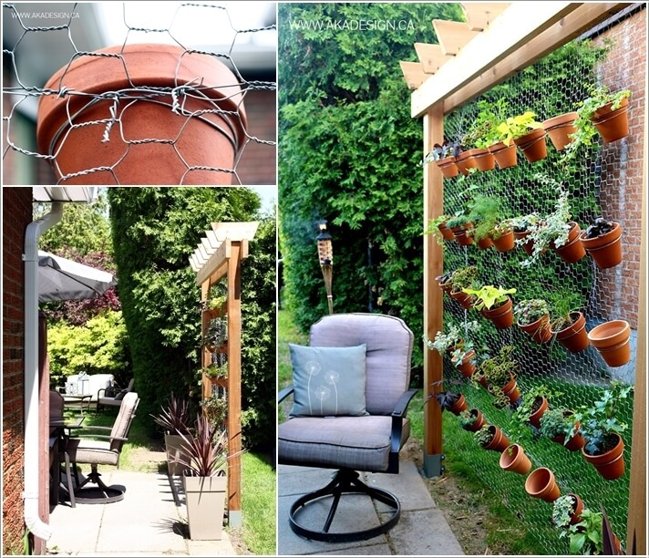 Materials to Use for a Vertical Garden 8