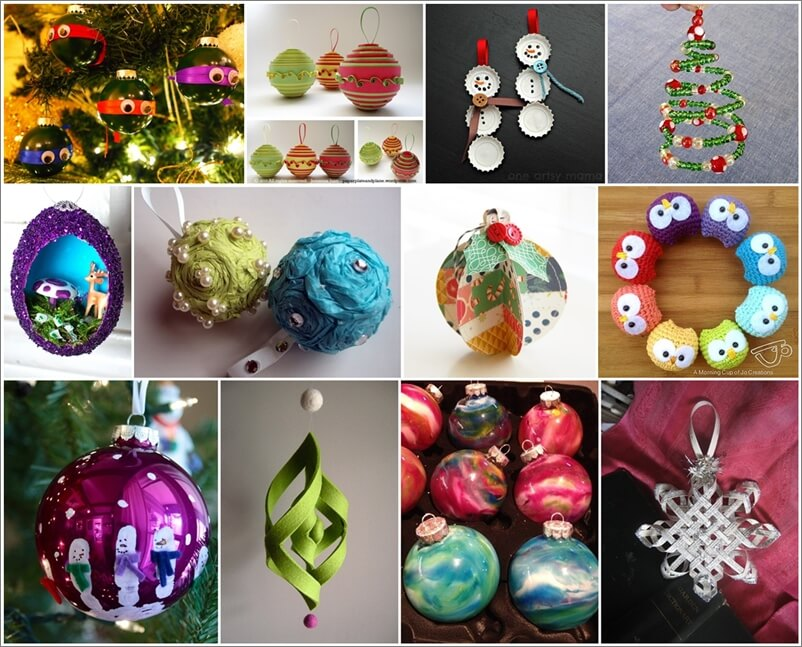 Over 50 Christmas Ornament Ideas You Will Love 1