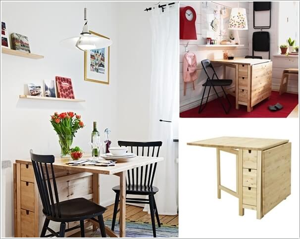 small dining furniture. small dining table ideas for tiny spaces 4 Compact Dining Table Ideas