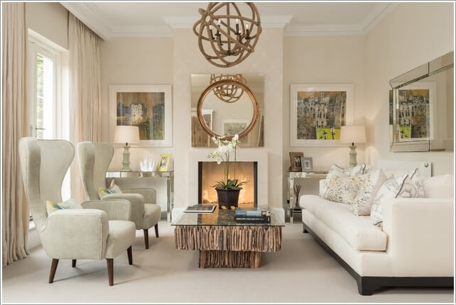 spread colors and life in your neutral living room 8 - Neutral Living Room