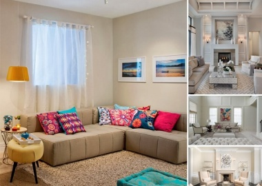 Spread Colors and Life in Your Neutral Living Room  fi