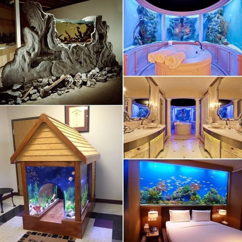 These Crazy Home Aquariums Will Take Your Breath Away