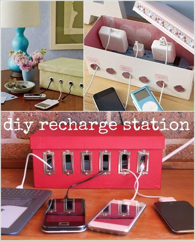 10 Cool And Clever Charging Station Ideas 1