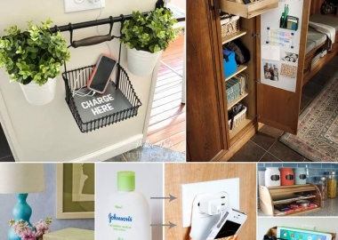 10 Cool And Clever Charging Station Ideas fi