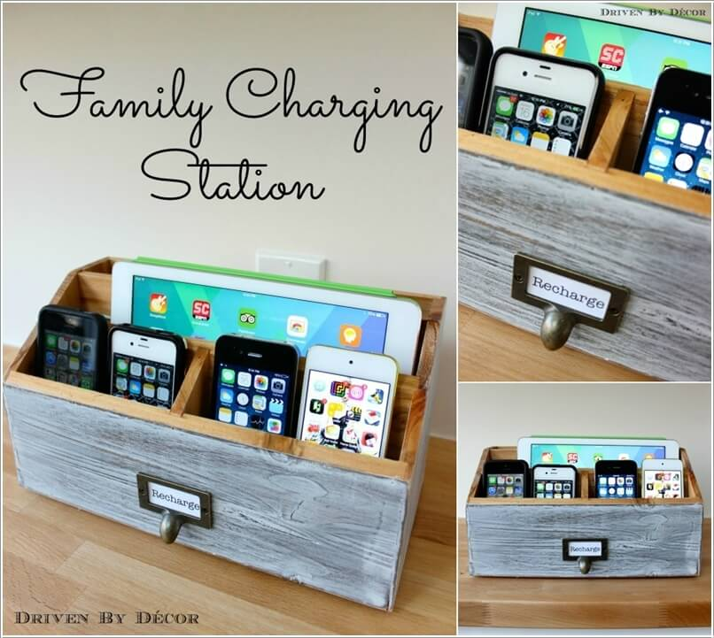 10 Cool And Clever Charging Station Ideas 3