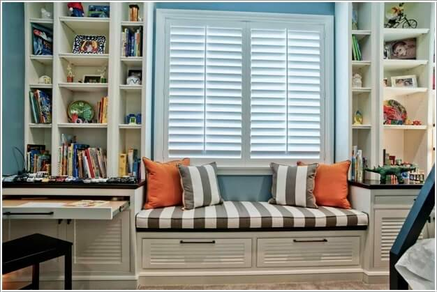 10 Practical Built-In Furniture Ideas for Your Kids Room 2