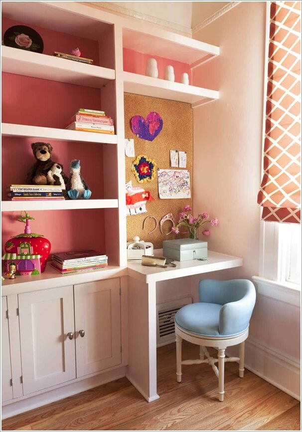 10 Practical Built-In Furniture Ideas for Your Kids Room 3