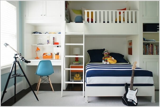 10 Practical Built-In Furniture Ideas for Your Kids Room 6