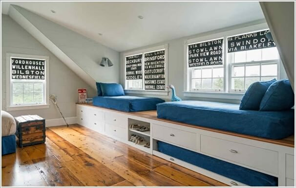 10 Practical Built-In Furniture Ideas for Your Kids Room 7