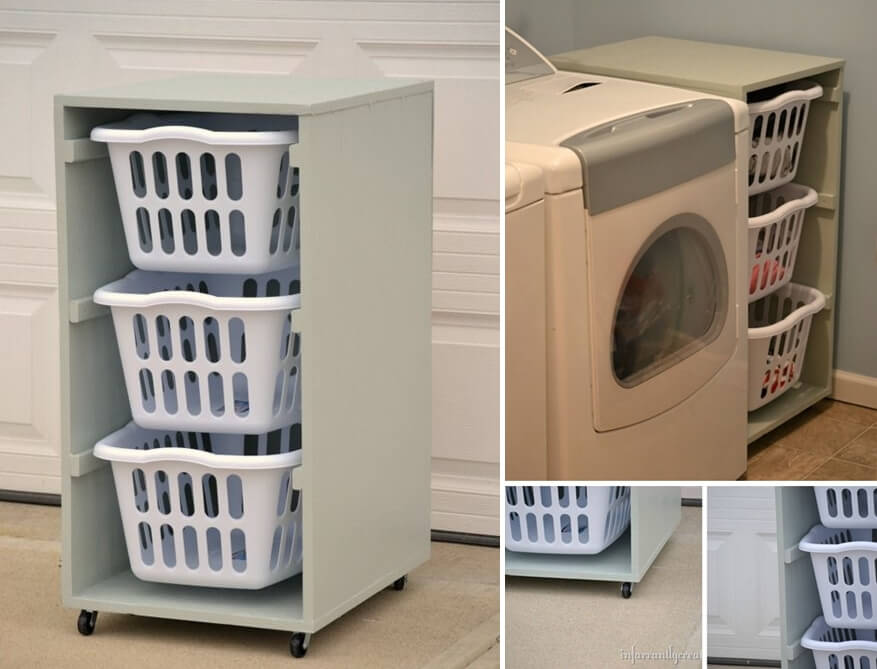 10 Practical Diy Projects For Laundry Room Organization