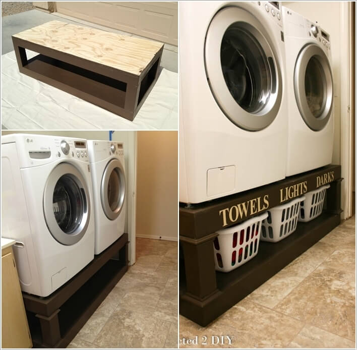 10 Practical DIY Projects for Laundry Room Organization 5